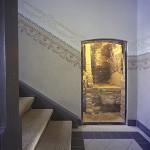 Treppenhaus Tür