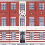 Strassenfassade des Wohnhauses Am Bassin No.3